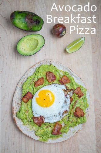 Opskrift: Avokado morgenmadspizza 1