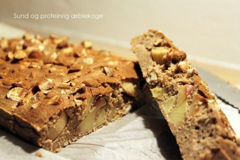 Opskrift: Sund æblekage 3