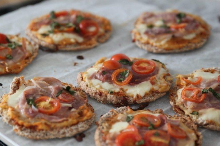 Minipizza: Her får du den BEDSTE opskrift på minipizza 1