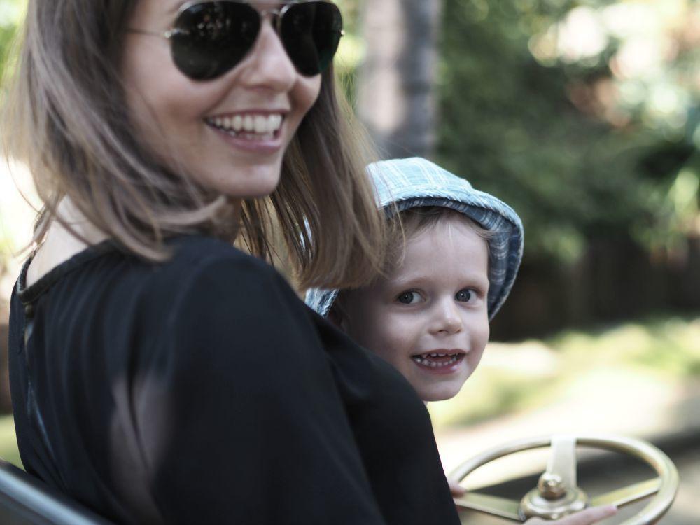 En solskinsdag i Tivoli med familien 13
