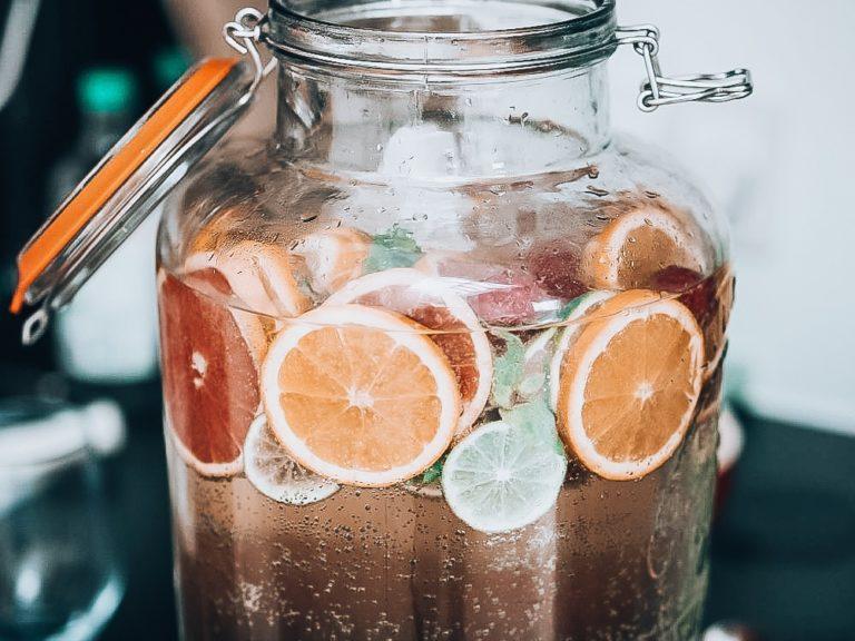 Velkomst drink sommer hyldeblomst