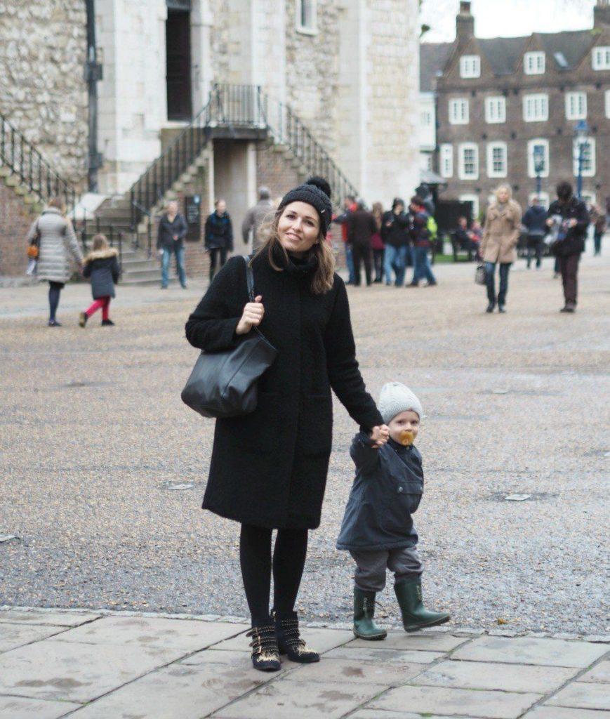 London med børn