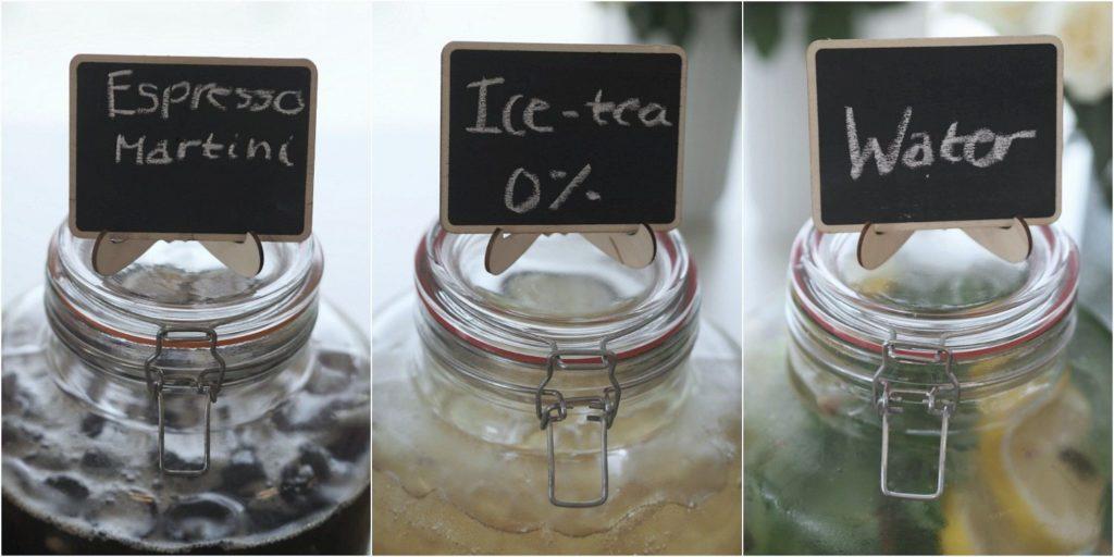 Hjemmelavede cocktails til bryllup