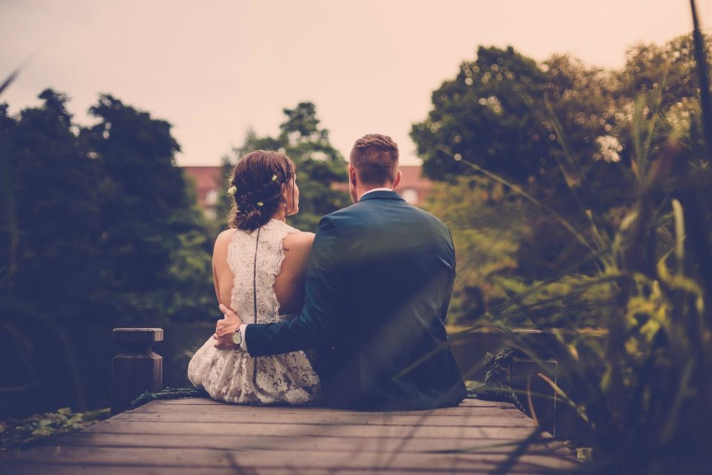 Lykkeligt ægteskab og vores bryllup
