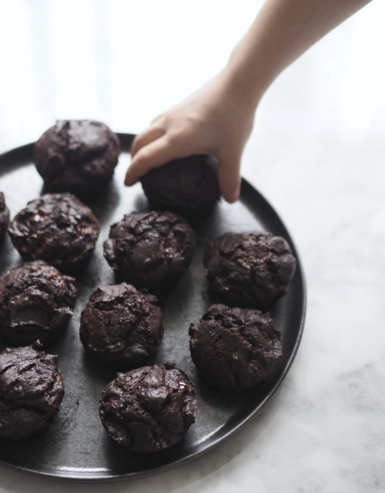 Chokolademuffins (veganske) på KUN 15 min. 9