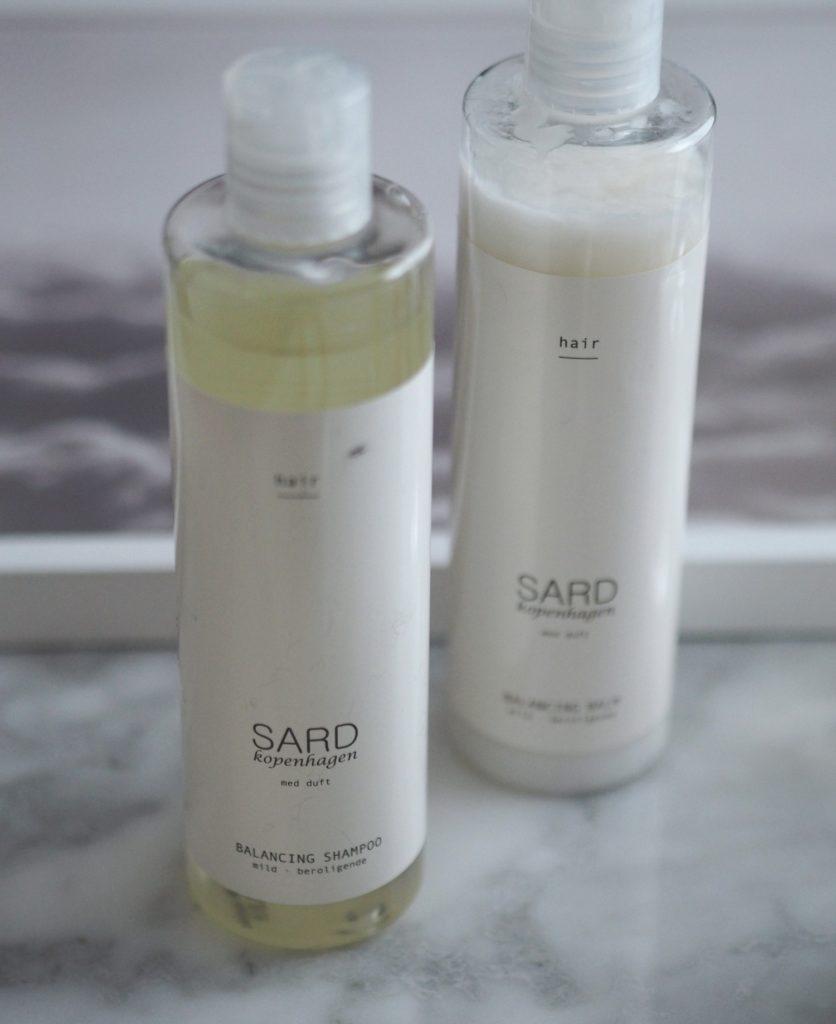 Skønhedstips og SARD Kopenhagen Balancing Shampoo og Balm
