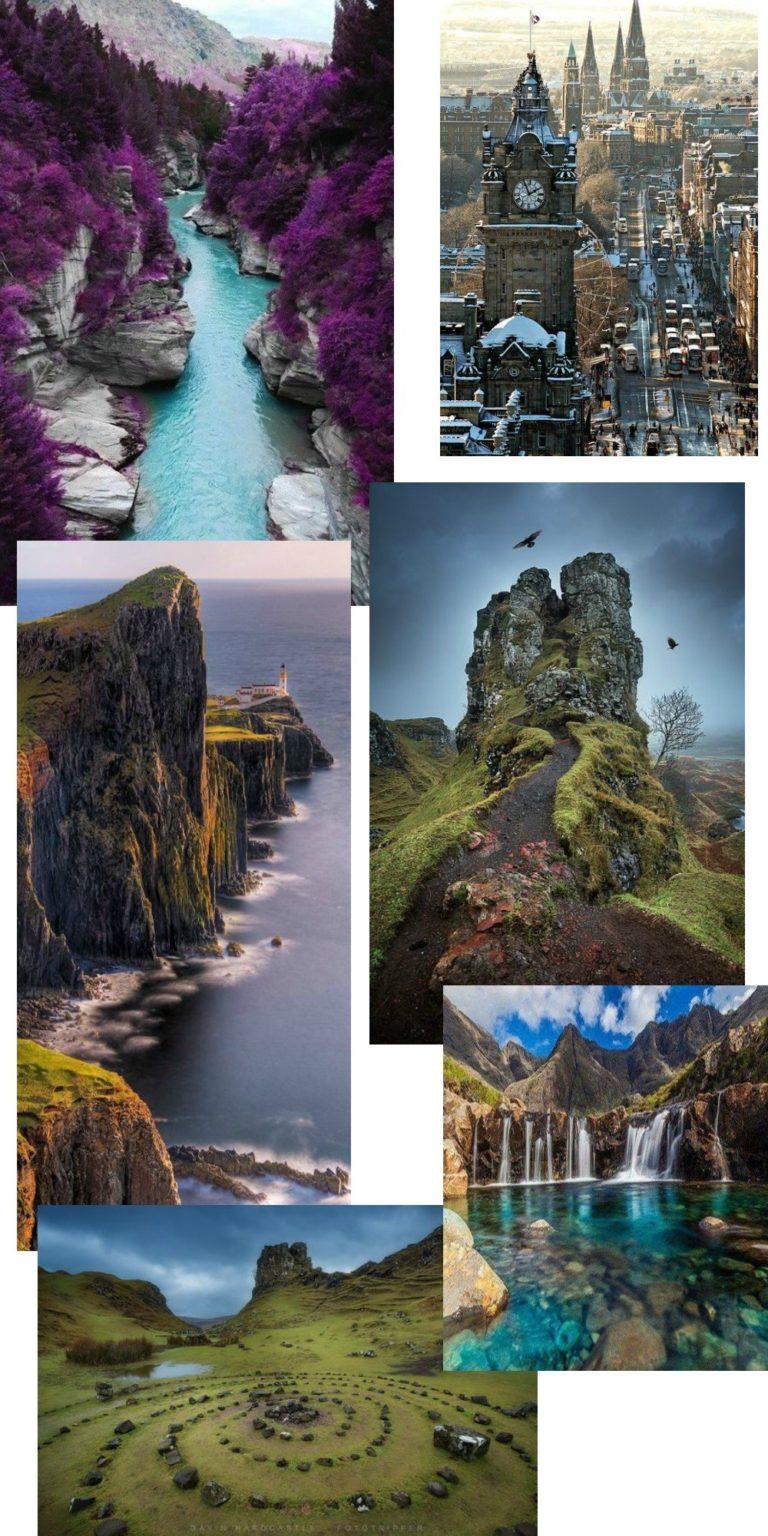 Det skotske højland og lidt om feriedrømme.. 1