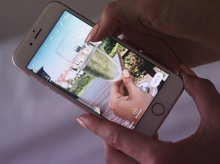 Hvordan linker man på Instagram Story