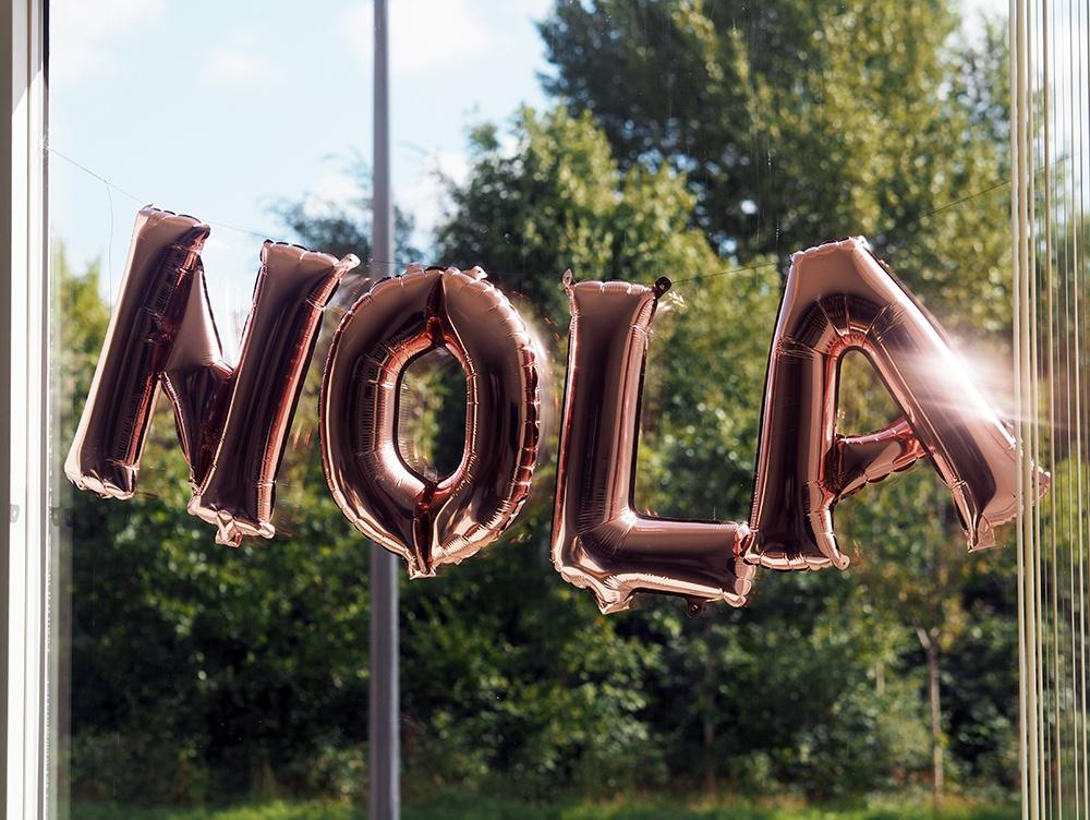 Navneballoner til barnedåb