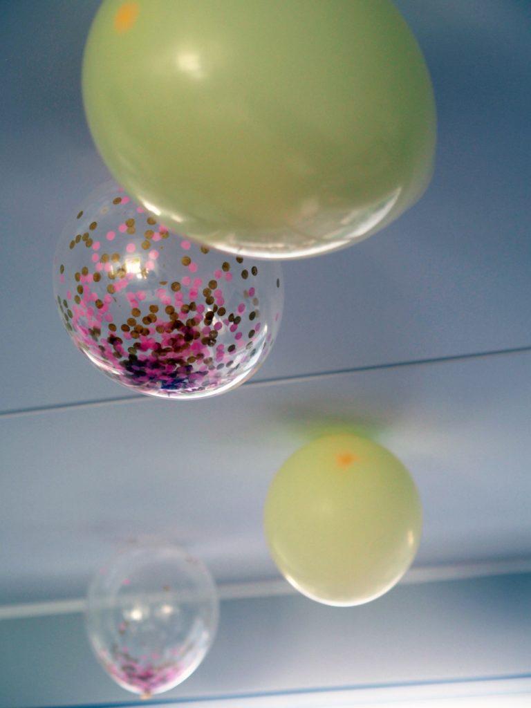 Balloner til barnedåb