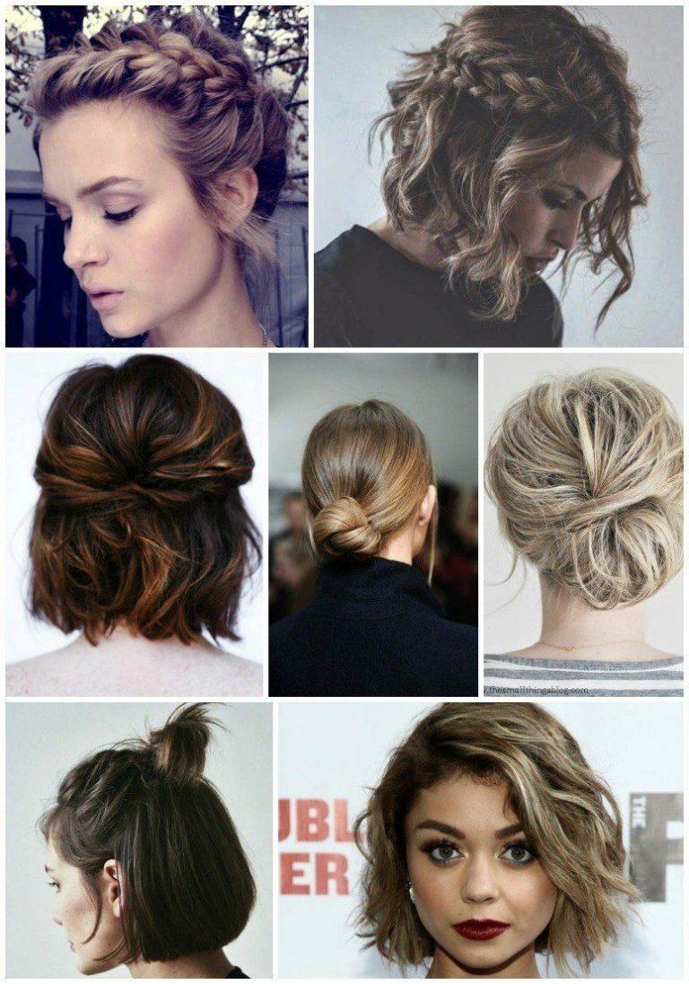 11 fantastiske frisurer til det korte hår 6
