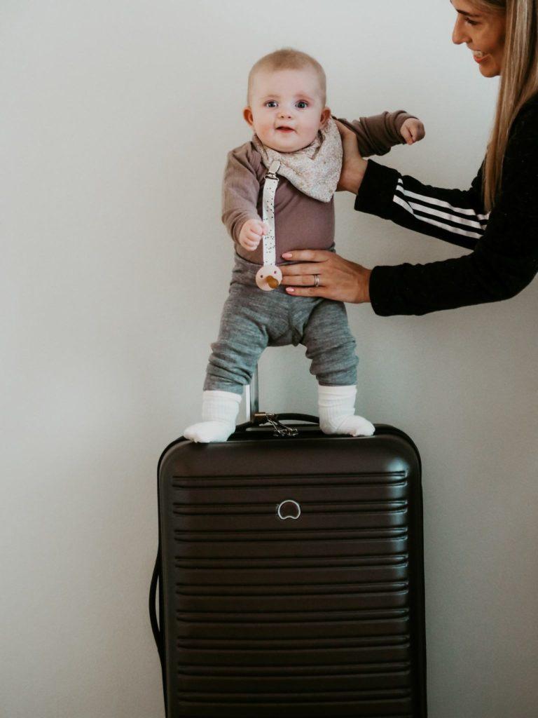 Flyrejse med baby