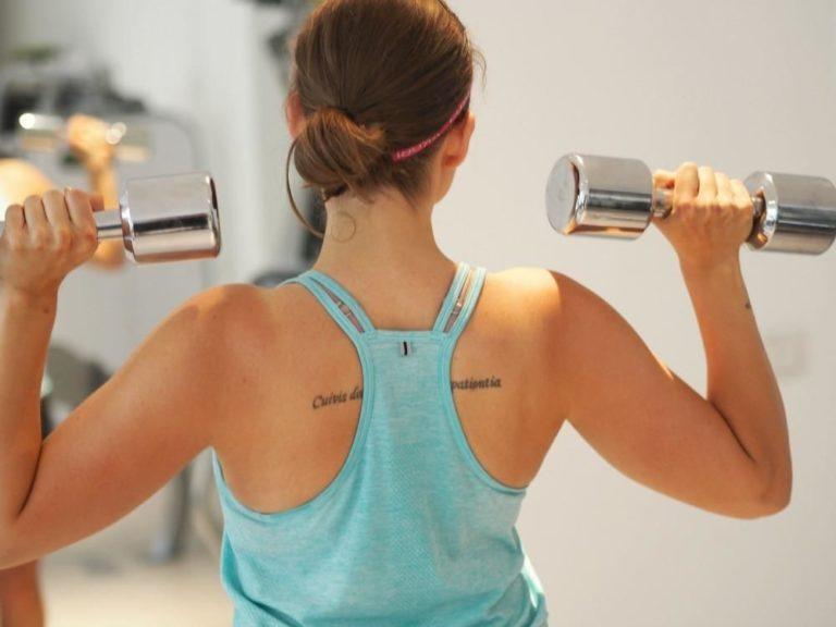 Gode og sunde træningsvaner: Min krop gennem årene 9