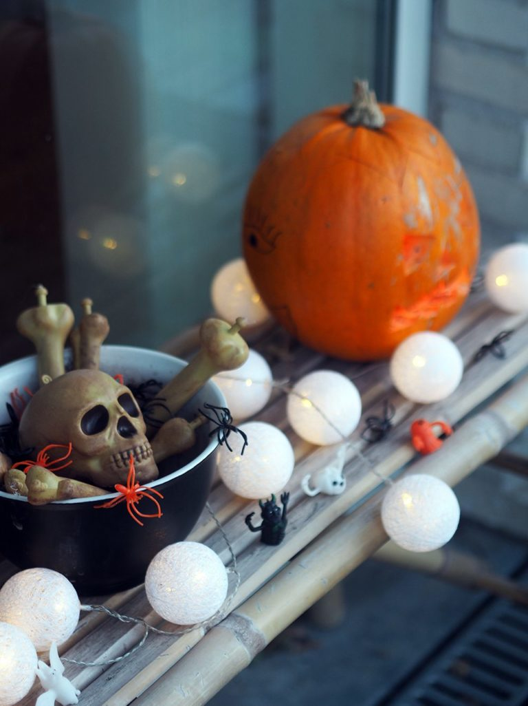 Halloween hjemme hos os 5