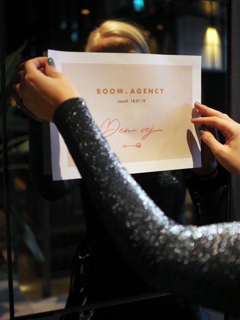 Vi gjorde det! Launch af Boom Agency 5
