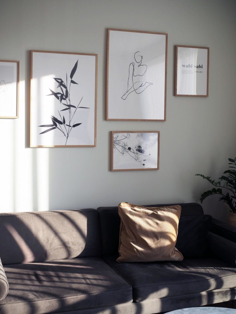Broste Copenhagen velour sofa