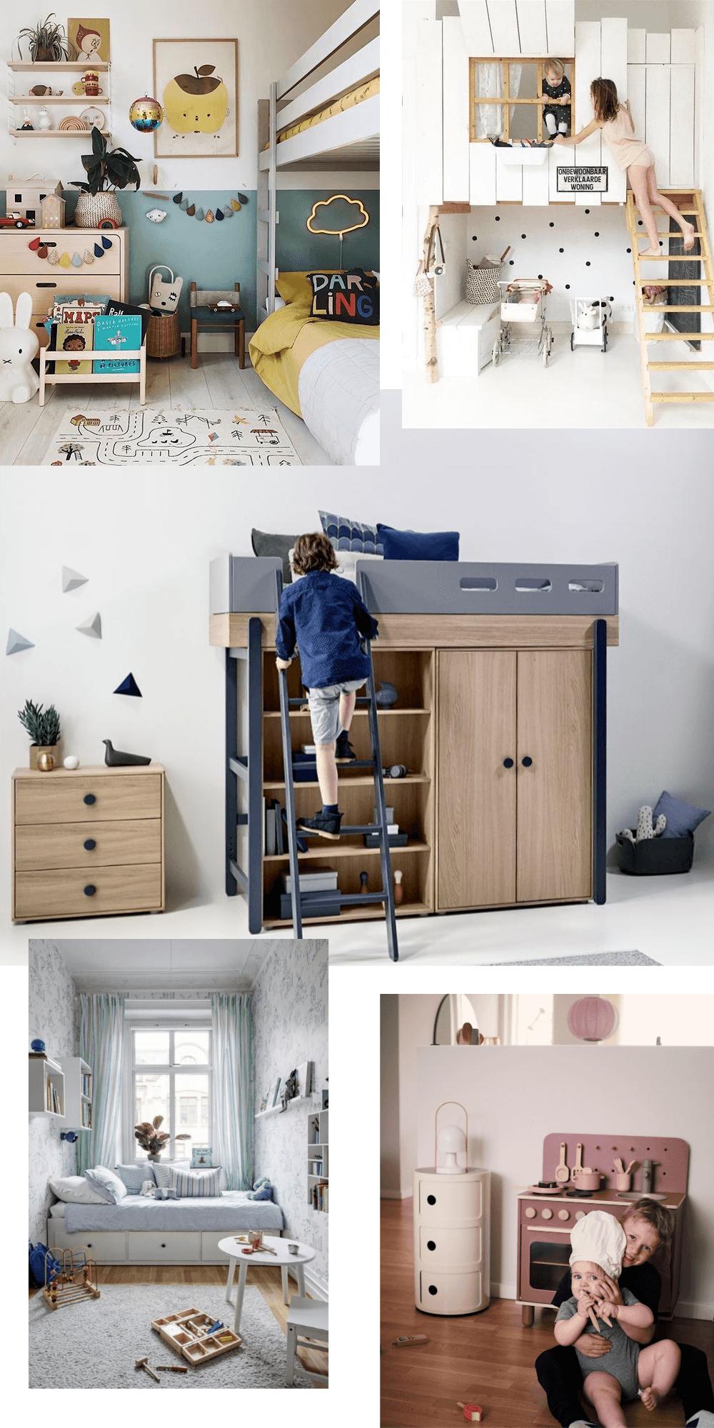 indretning af små børneværelser
