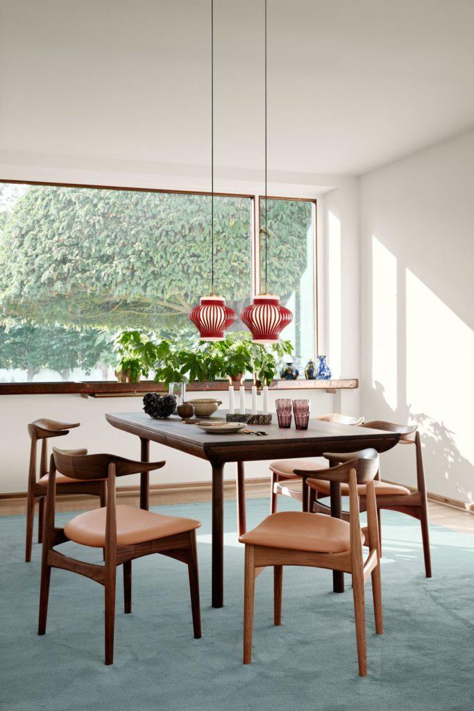 Warm Nordic spisebord