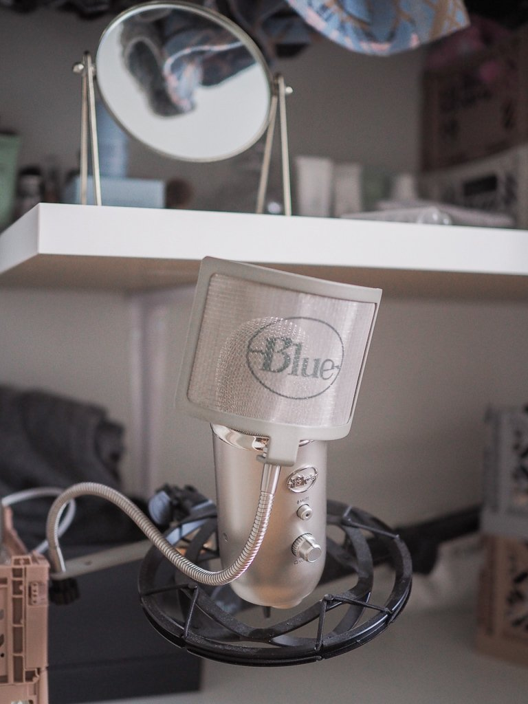 Blue Microphone podcast