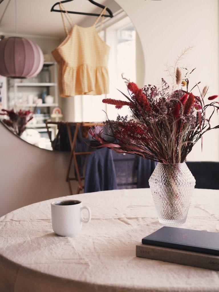 Evighedsbuketter og tørrede blomster