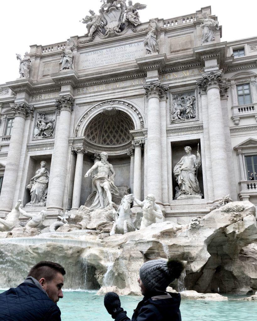 Min fars hotel i Rom
